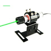 Great Distance Pointed 50mW 515nm Forest Green Line Laser Alignment